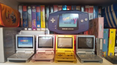 GameBoy Advance SP collection