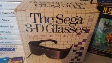 The Sega 3-D Glasses