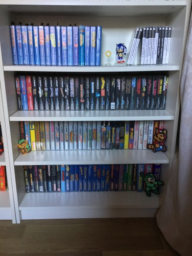 collection retrogaming, mario, sonic, dreamcast, jeux video, zelda