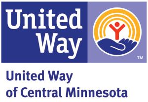 United Way of Central Minnesota Logo and Homepage