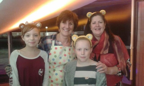 Children in need with Jane, GBBO