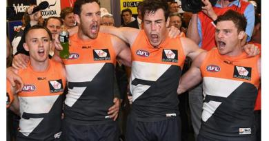 The Giants Crush The Swans