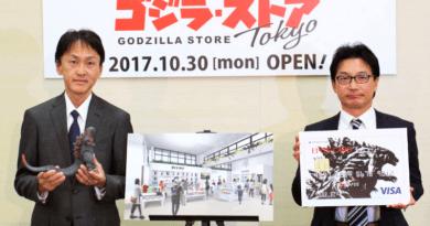Megtörtént. Amire senki nem számított. Godzilla shop nyílik Tokióban.