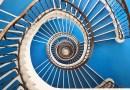 Budapest végtelenül szép lépcsőházai