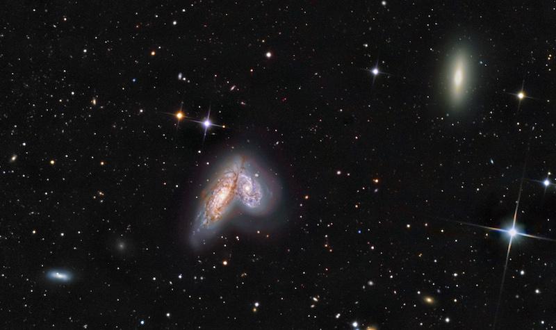 Siamese twin galaxies
