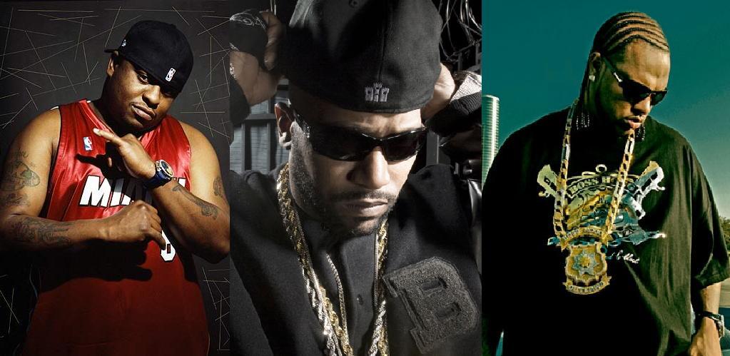 Scarface, Bun B & Slim Thug