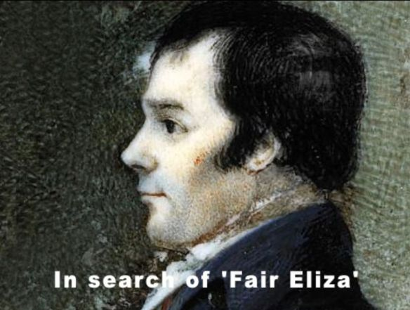 In search of Eliza - Rabbie Burns