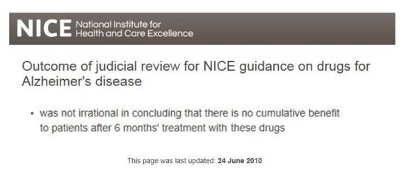 NICE review June 2010