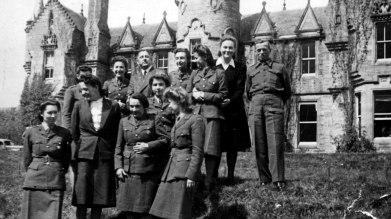Polish residents at Dunalastair
