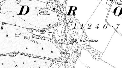 Estate map, OS 2nd edition, Kilmacew