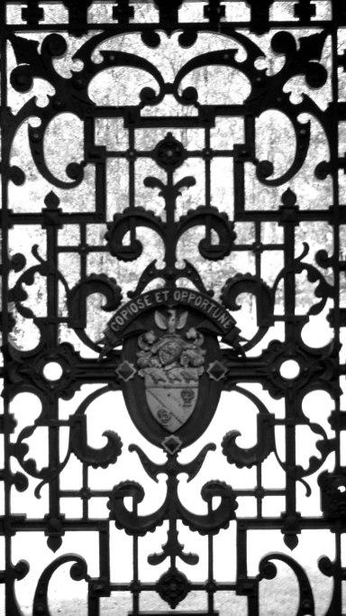 Dunalstair iron gates