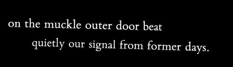 Muckle outer door, Dunalstair