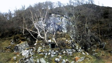Macgregor's cave, Dunastair