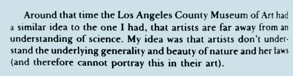 Feynman on artists and scientists1