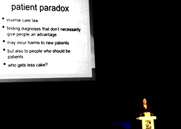Patient Paradox - Mgt McCartney 3 Oct 2014