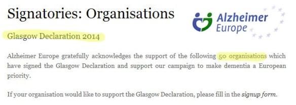 Glasgow declaration April 2015