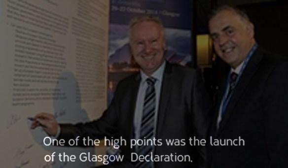 Glasgow-declaration signed