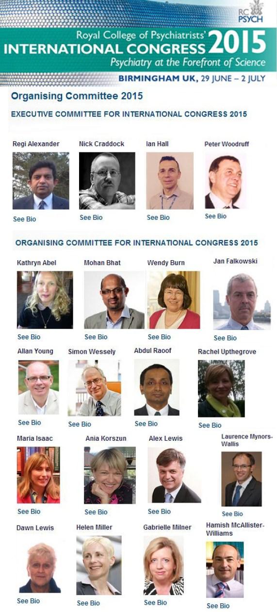Organising Committtee International congress 2015