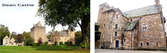 Dean Castle, Kilmarnock. Seat of the Earl of Glencairn