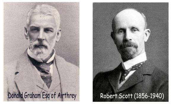 Donald Graham, Airthrey and Robet Scott, Cornton