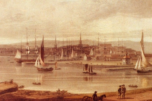 Footdee and the harbour – early nineteenth century