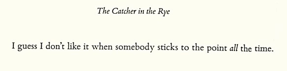 The catcher in the Rye (4)