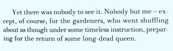 the timeless instruction of gardeners