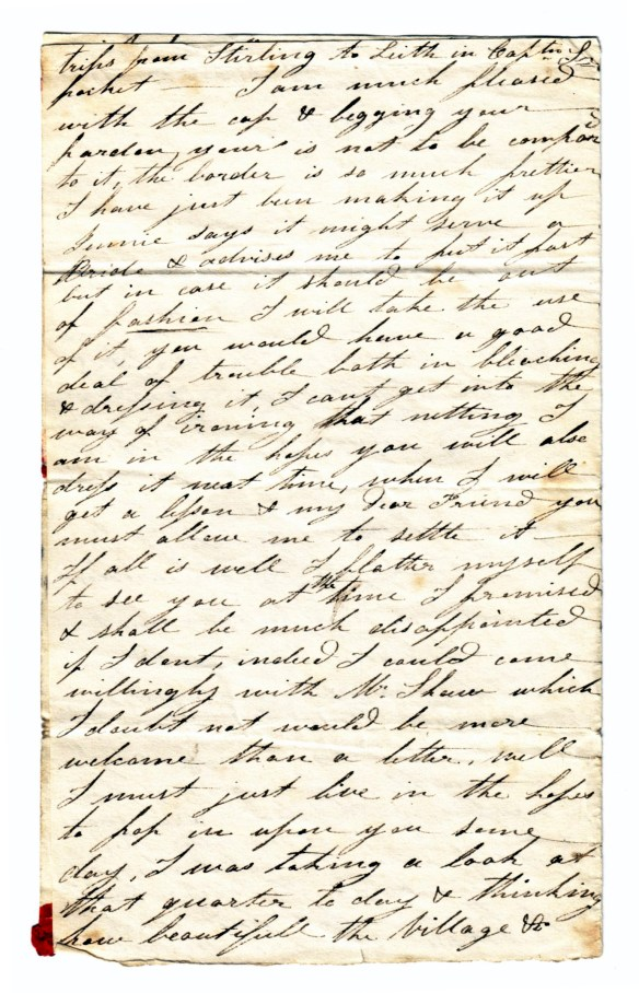 to Susan Rutherford 17 Nov 1831 (2)