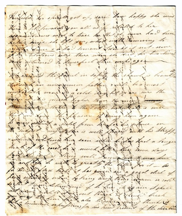 To Susan Rutherford 20 Oct 1831 (2)