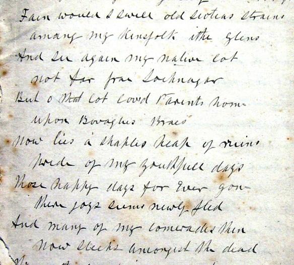 Bovagli Manuscript - poem