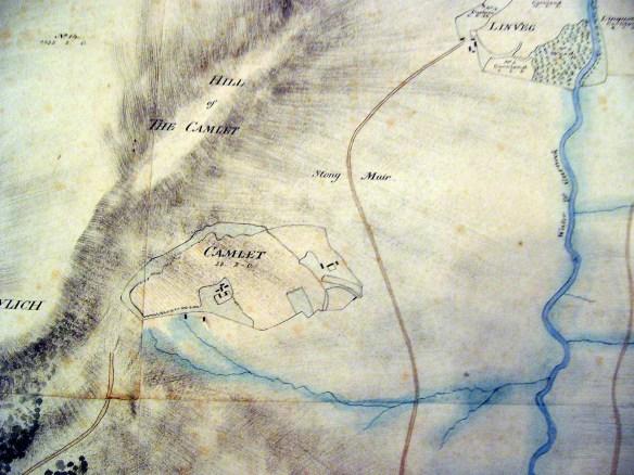 Camlet plan of 1806