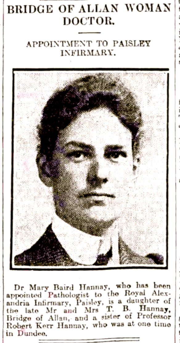 march-1922-bridge-of-allan-woman-doctor