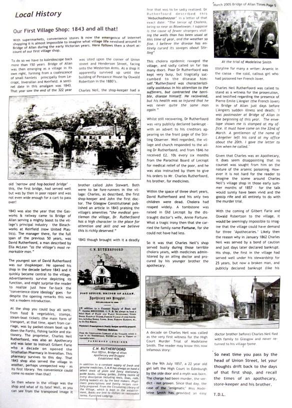 peter-writes-bridge-of-allan-gazette-march-2005
