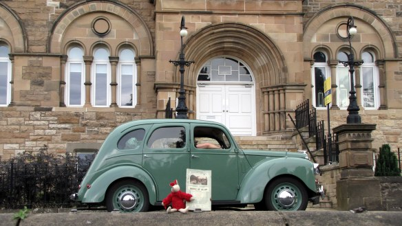 Vintage care rally - Br of Allan - May 2014 (3)