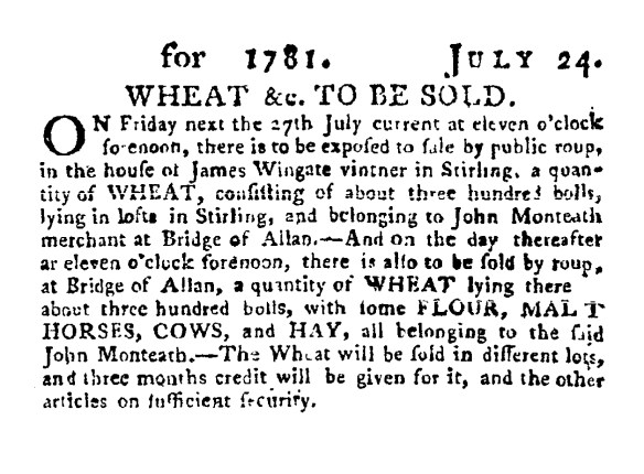 wheat-to-be-sold-1781-bridge-of-allan