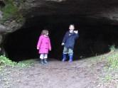 In Stevenson's Cave - April 2005