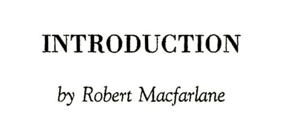 introduction-robert-macfarlane