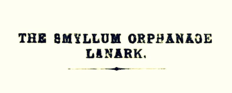 Smyllum Park Orphanage