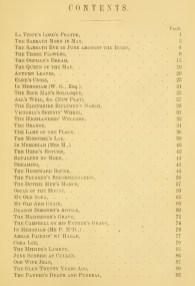La Teste's poems (list 1)