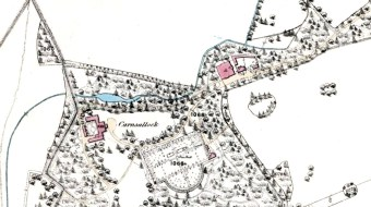 Carnsalloch 1859map