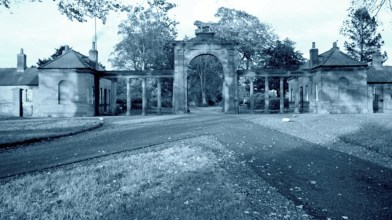 Ladykirk House and West Lodges (Lion gate) (5)