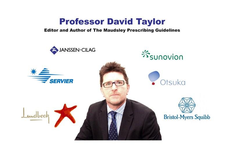 Professor David Taylor, Maudsley Gudelines