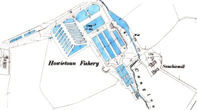 Howietoun fishery map 1896a