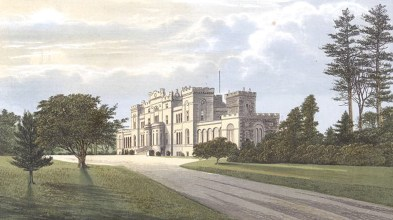 Print of Rossie castle