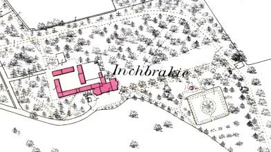 Inchbraikie - 1st OS map (b)