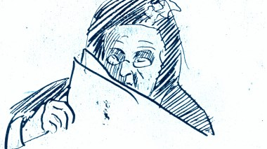 grandmother sketch by ams