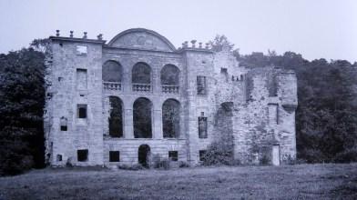 Craighall castle, Fife, 1889