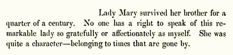 Lady Mary Crawford (as recalled by Lord Lindsay, 1858) 01