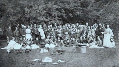 The Inglis picnic at Crawford Priory 2nd August 1861