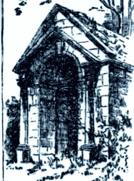 Walton Hill Mausoleum (as in 1883)